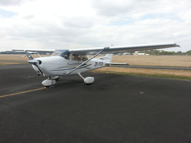 Foxtrot Charlie Romeo after flying my first CTC solo flight!